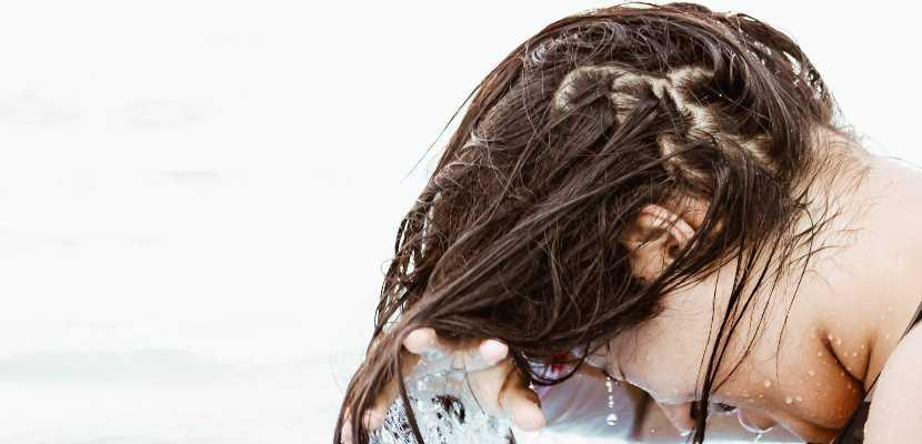 cabello lavado