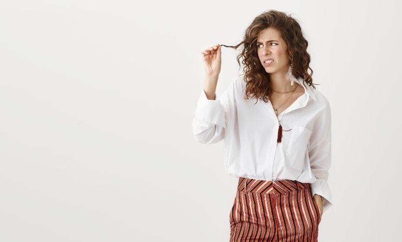 cuidado del cabello maltratado