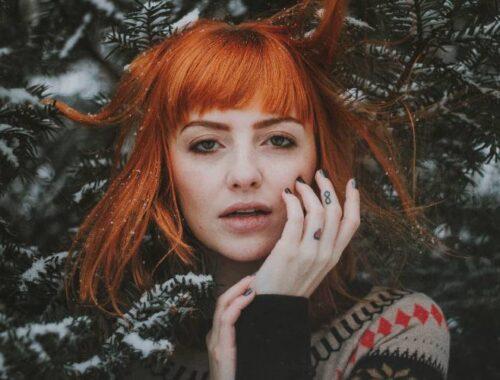cuidado del cabello rojo