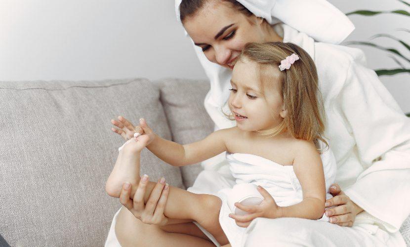 cuidado de la piel para niños