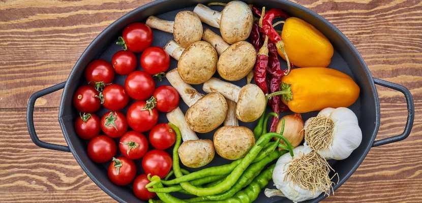 cazuela de vegetales